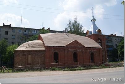 Церковь святой лыжни