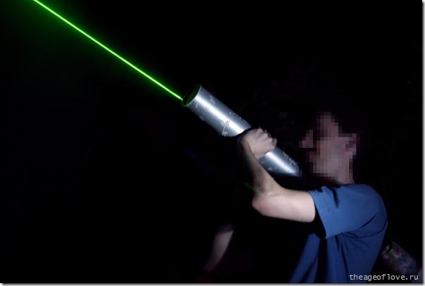 Ракетомёт с лазерным наведением