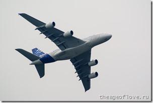 Airbus A380 на МАКС-2013