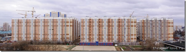 Стройка на ул. Левобережной 01.11.2013