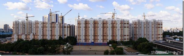 Стройка на ул. Левобережной 17.06.2013