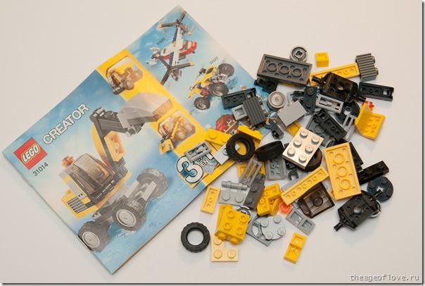 Lego 31014 детали