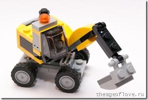 Экскаватор Lego 31014