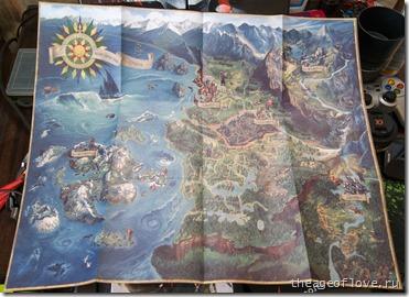 Карта мира Ведьмака
