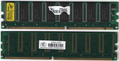 Горелая планка DDR333 256Mb