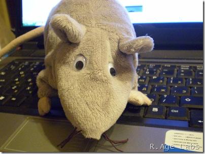 Мышь с глазами