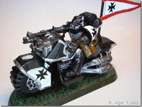 Black Templar bike
