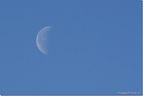 Луна. Вся такая внезапная.