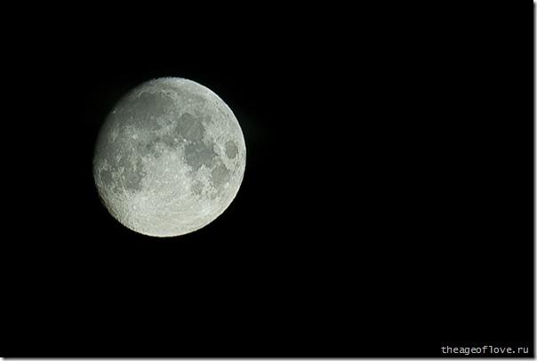Совершенно хамская луна