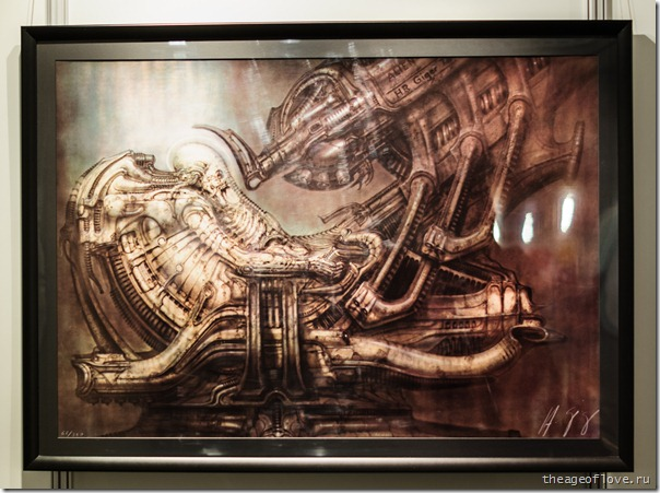 """H.R.Giger """"Alien"""""""