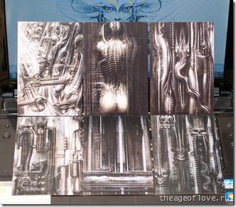 Набор открыток c работами Гигера