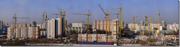 Стройка на ул. Левобережной, 15.04.2013