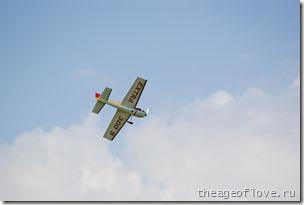 Тренировка авиамоделистов