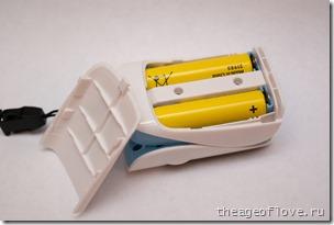 Батарейный отсек пульсоксиметра