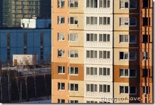 Три окна не в ногу