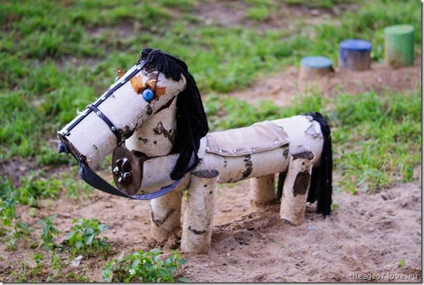 Лошадь-мазохистка