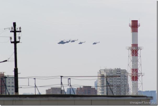 Коварный Ми-26 с сопровождением