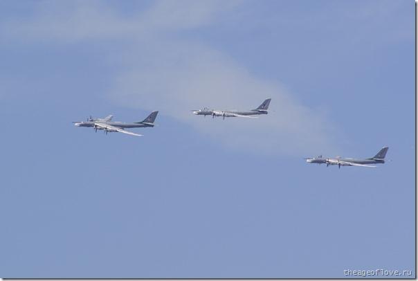 Целых три Ту-95