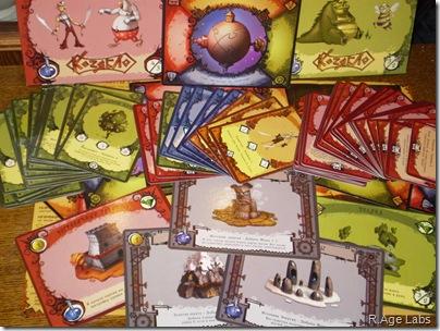 Коллекционная карточная игра Козябло
