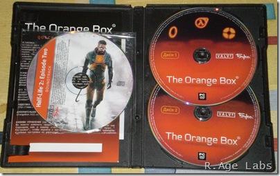 The Orange Box, вид изнутри